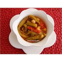 Nohutlu Bamya Çorbası