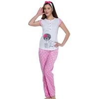 Rengarenk Bayan Pijama Takımları