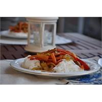 Çinliler İçin: Sebzeli Pirinç Şehriyesi