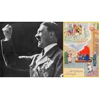 İran İşi Minyatürlerde Hitler, Stalin Ve Mussolini