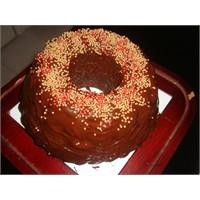 Çikolatali Boncuklu Cevizli Kek