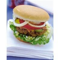 Bulgurlu Diyet Hamburger