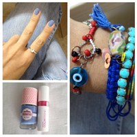 Ürün Tanıtım; Mavi Oje & Avon Color Trend Ruj