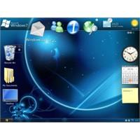 Windows 7 Masaüstü Zenginliği