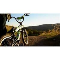 Bisikletle Gölete Atlayış