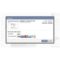 Facebook'a Ücretli Oluyor!!!
