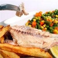 Fırında Sebzeli Diyet Balık