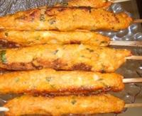 Fırında Bulgurlu Tavuk Kebabı