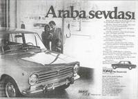 Murat 124 Ün Gazetedeki Reklamları