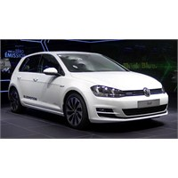 2013 Volkswagen Golf 7 Bluemotion Concept Paris'te