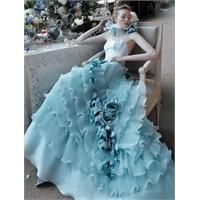 """""""Mavi Renk"""" Düğün Teması - Konsepti"""