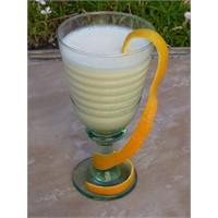 Portakallı Yoğurt Shake - Yogurtkitabi.Com