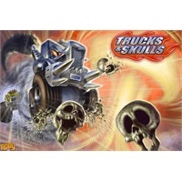 Trucks And Skulls Nitro Bedava İphone Ve İpad Oyun