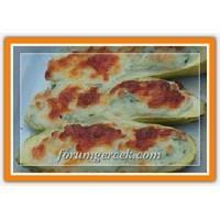 Fırında Dereotlu Peynirli Kabak Tarifi