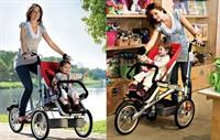 Bisiklete Dönüşen Bebek Arabası
