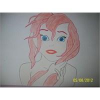 Deniz Kizi Ariel Çizimim