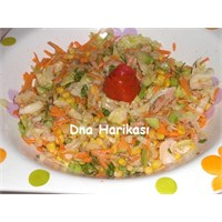 Dna'nin Ton Balikli Salatasi