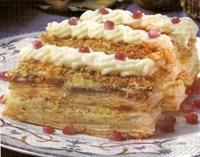 Nar Taneli Milföy Pastası
