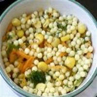 Kuskus Makarna Salatası