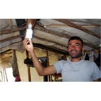 Antalya'da Mucit Çoban Kendi Elektriğini Üretti
