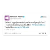 Microsoft, Facebook Home İle Dalga Geçti!