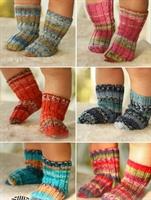 Örgü Bebek Çorapları