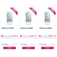 İphone 5'in Resmi Türkiye Fiyatı Belli Oldu