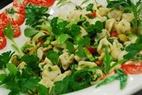 Ilık Mantı Salatası