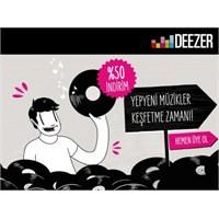 Deezer'dan Yeni Yıl Kampanyası