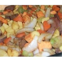 Etli Sebze Kebabı
