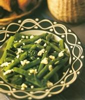 Tulum Peynirli Taze Fasulye Salatası