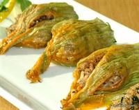 Kabak Çiçeği Dolması - Antalya Mutfağı