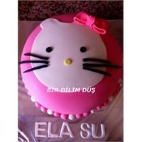 Hello Kitty Pasta Ve Kurabiyeleri