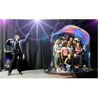"""""""Bubble Show"""" Rekoru İstanbul'da Denendi"""