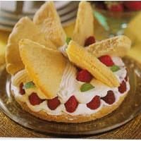 Kelebek Pasta Tarifi( Çilekli)