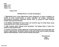 Genelkurmay Tarihi Arşivi Çanakkale Muharebelerind
