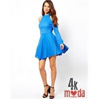Günün Rengi : Mavi Abiye Modelleri