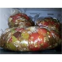 Buzluk İçin Domates, Biber,patlıcan