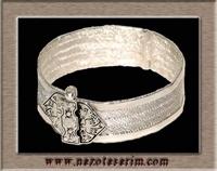 Gümüş Örme Bileklik