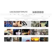 Blogger Lugas Template