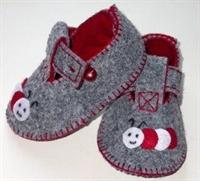 Keçeden Bebek Patikleri -2