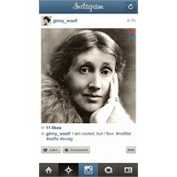 Virginia Woolf'un İnstagram'ı Olsaydı?