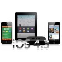 İphone İos 4.3 Yayınlandı