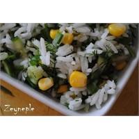 Pirinç Salatası-zeyneple
