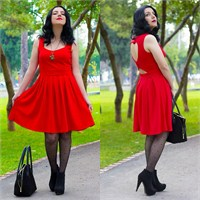Ne Giydim: Kalp Pencereli Elbise