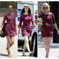Aynı Elbise 3 Ünlü... Kime Daha Çok Yakışmış?