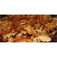 Sacda Tırtık Patatesli Tavuk(Özel Tarif)