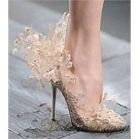 Gelin Ayakkabısı Modelleri 2014