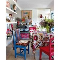 Bohem Stili Yemek Odaları