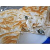 Peynirli Ispanaklı Tava Böreği